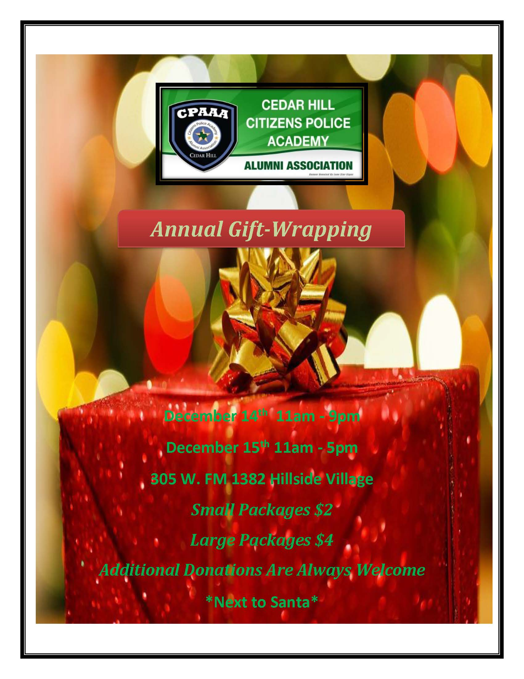 Community Gift Wrapping Flyer rev 11-12-19