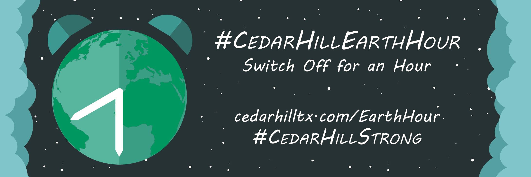 Cedar Hill Earth Hour BANNER