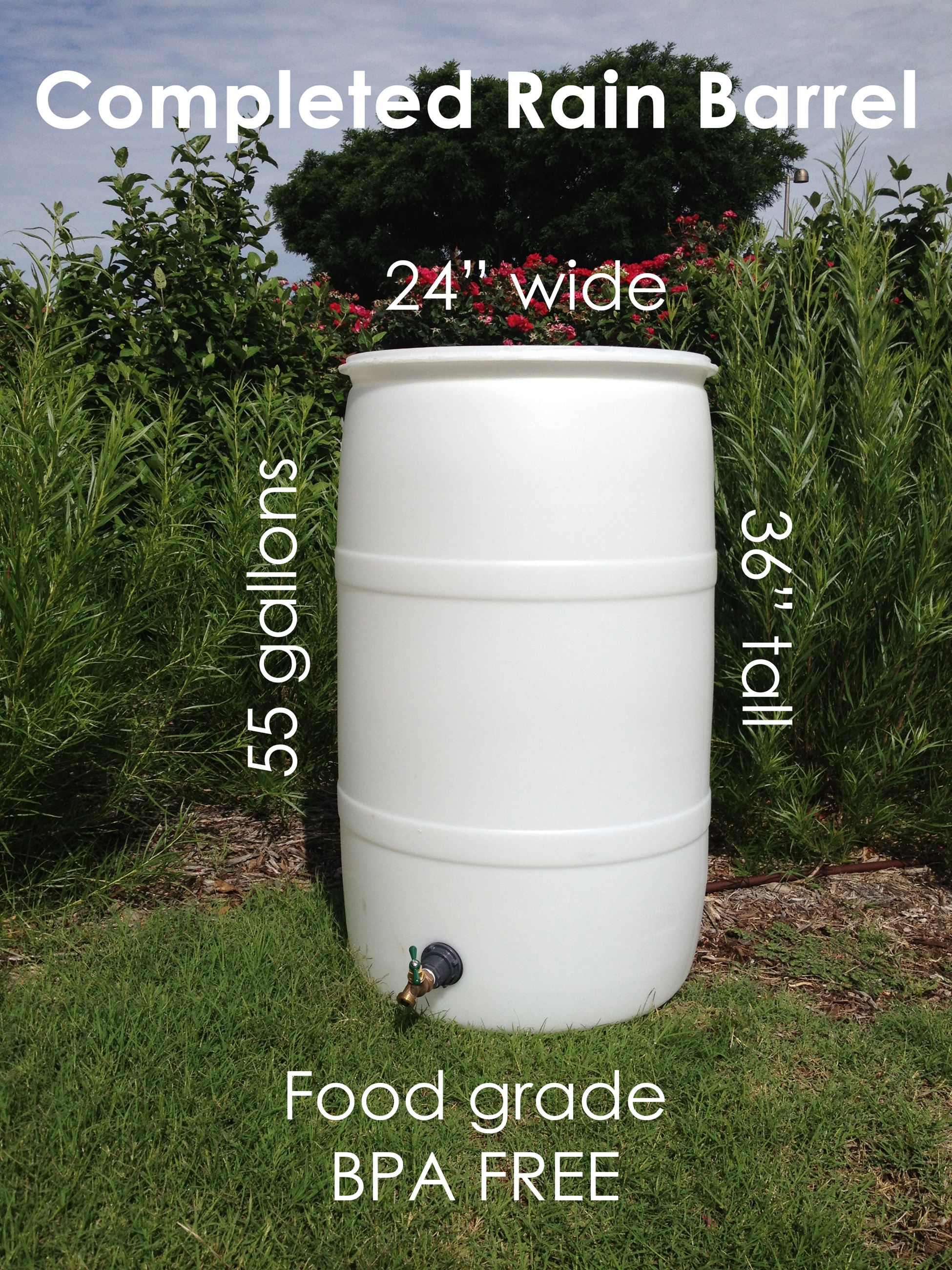 Rain Barrel Sample Photo