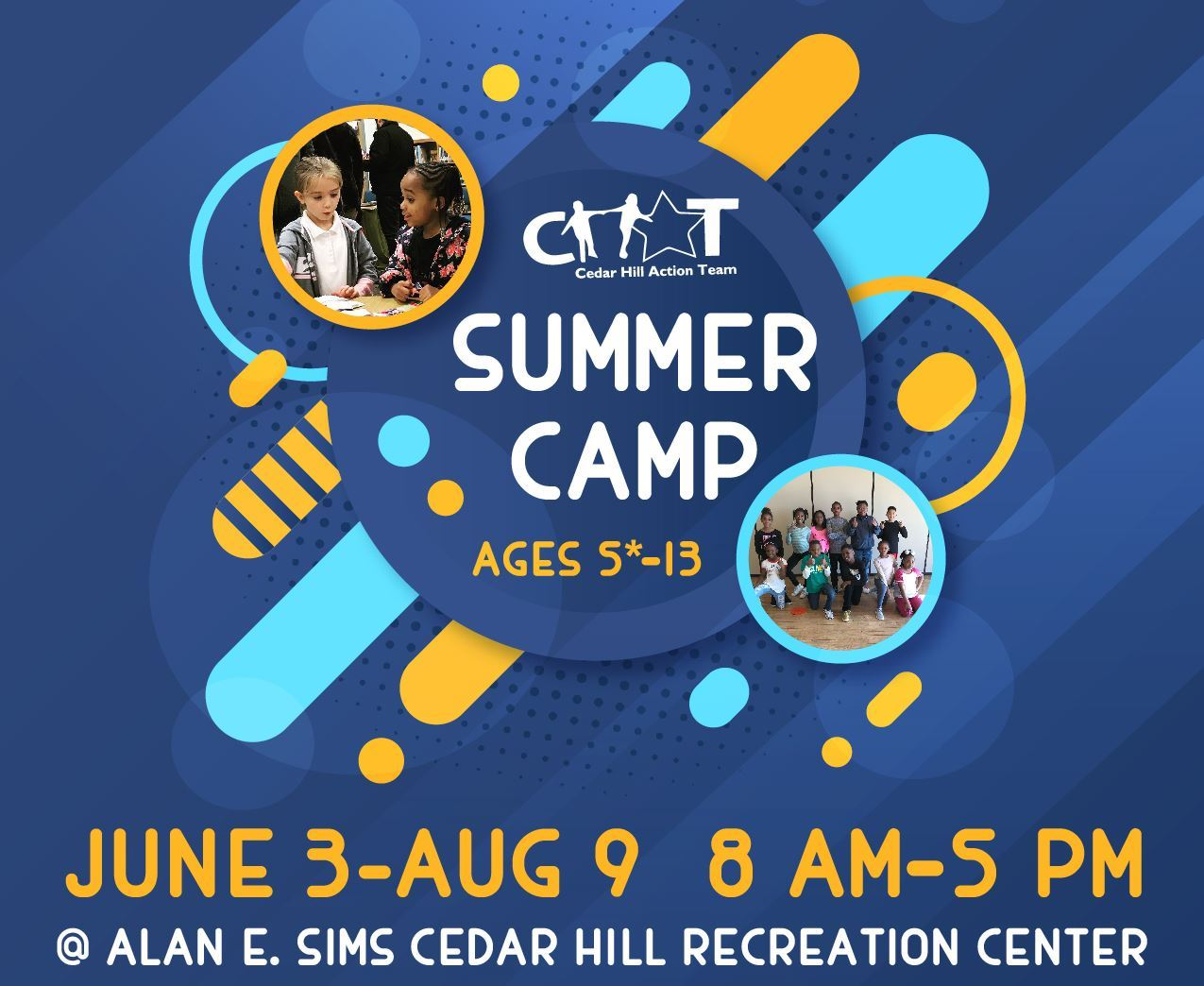 CHAT Summer Camp 2019
