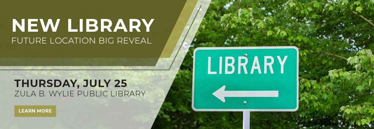 New Library Location Big Reveal