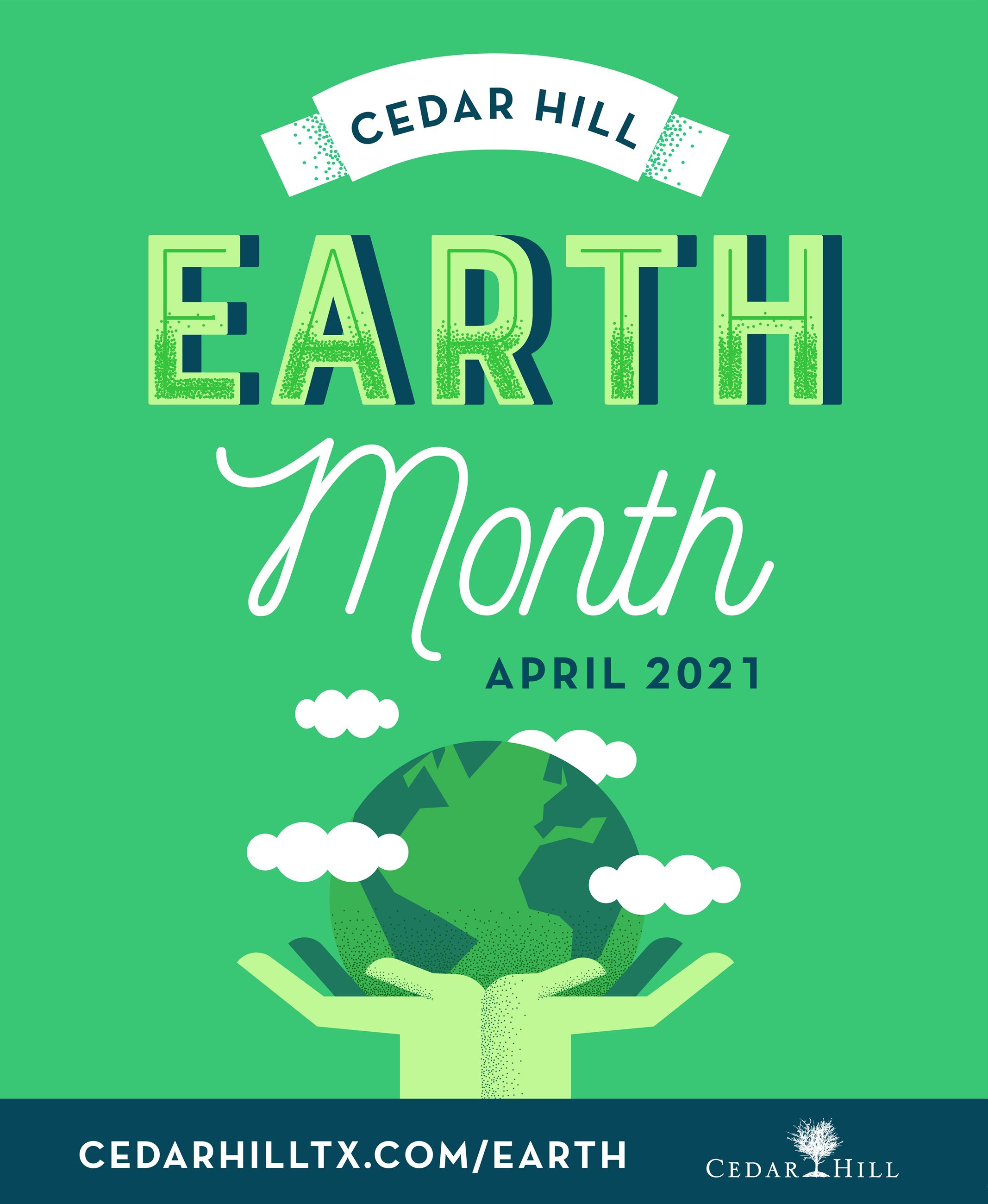 2021 Earth Month Graphic